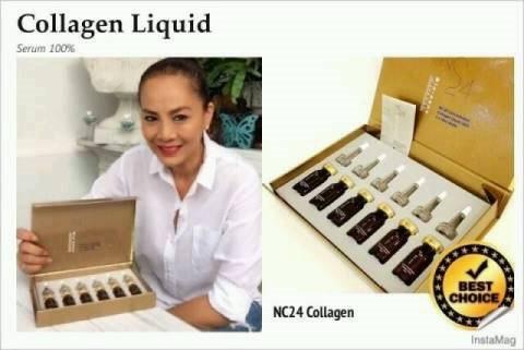 NC24 Bio-nano Collagen เซรั่มคอลลาเจนเข้มข้น ให้ผิวอ่อนวัย ริ้วรอยดูลดเลือน ( 1 กล่อง มี 6 ขวด)