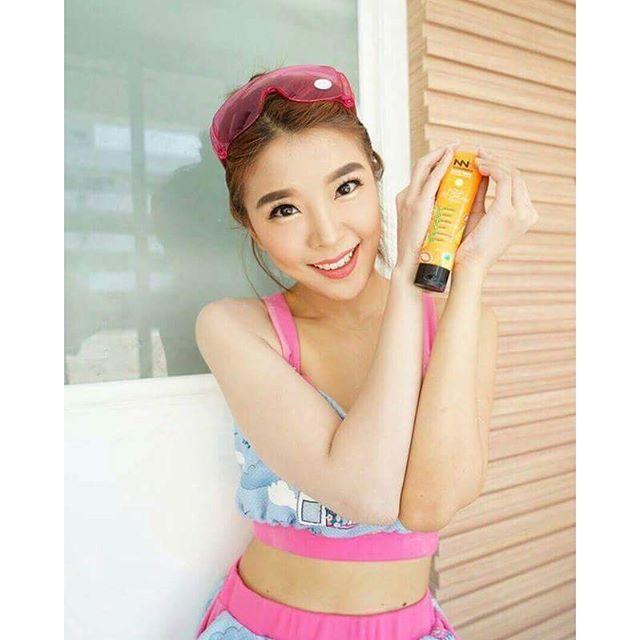 NNK Fruity White AQUA DD Cream SPF50 PA+ ดีดีครีมน้องนะคะ กันน้ำ กันเหงื่อ 100%