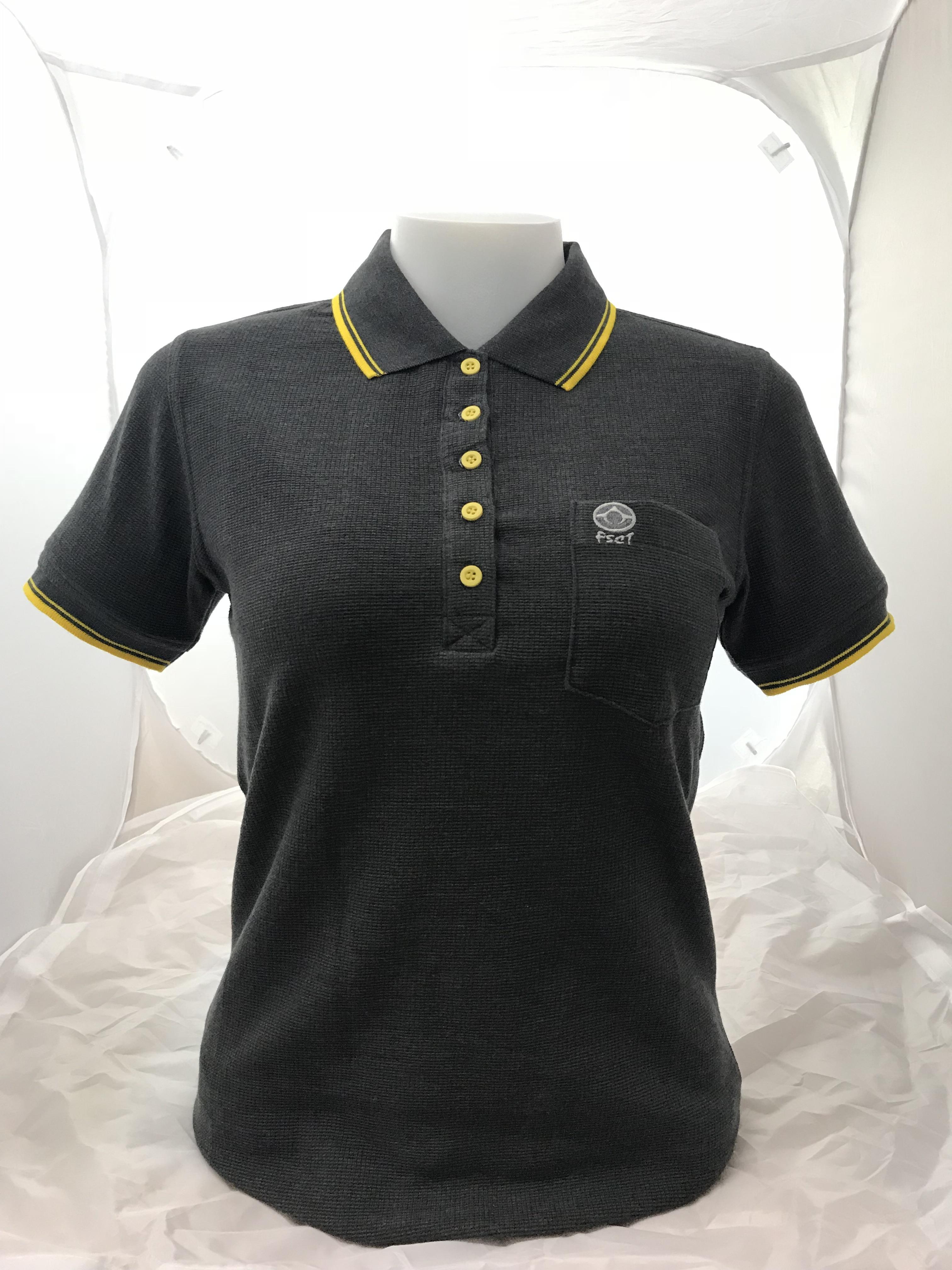 เสื้อสีดำTDขลิบสีเหลือง