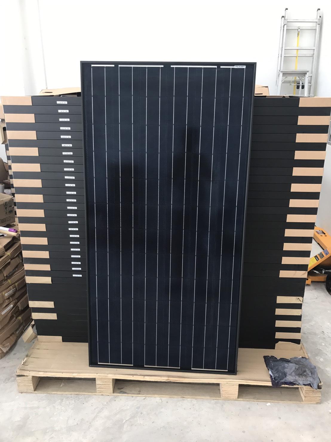 แผงโซล่าเซลล์ 210W mono full cell ราคาส่ง (solarpanel 210W mono)