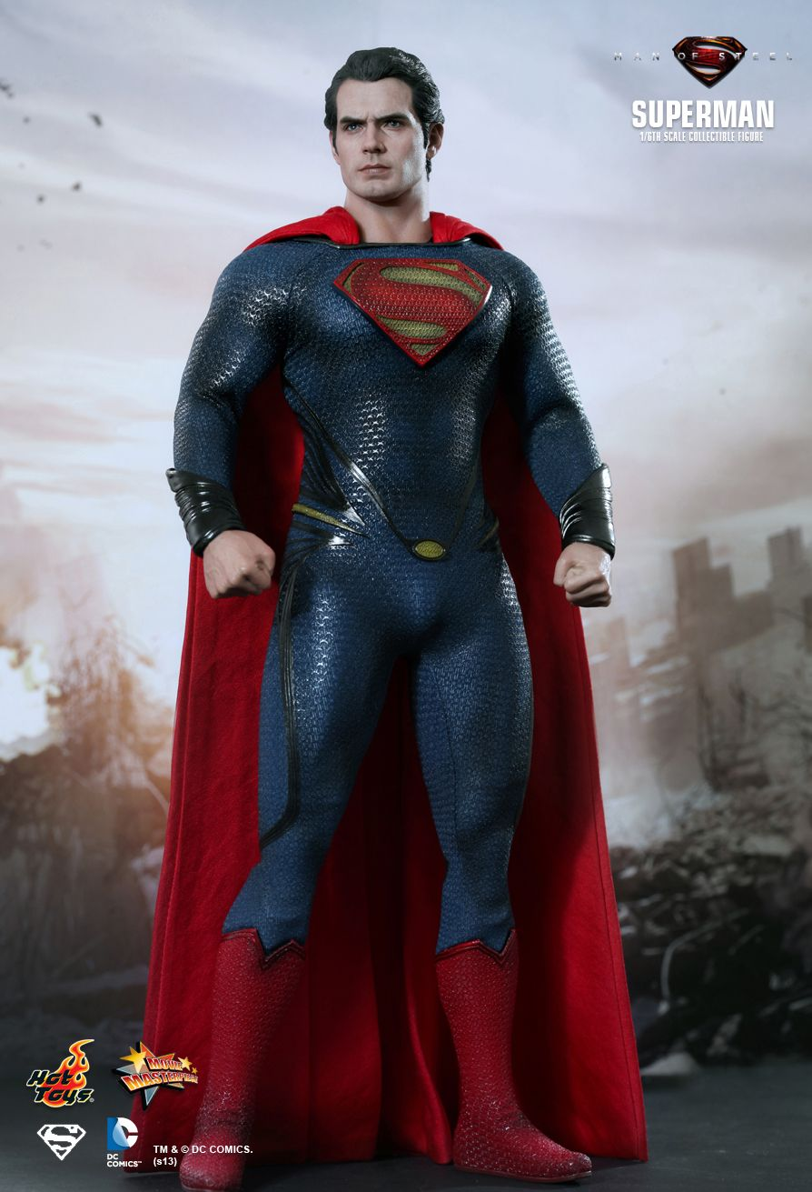 Hot Toys MMS200 MAN OF STEEL - SUPERMAN