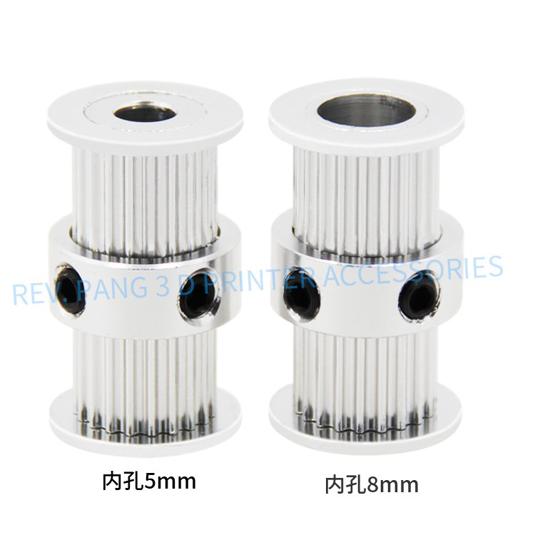 Pulley Double Sided 2GT 20ฟัน กว้าง6mm