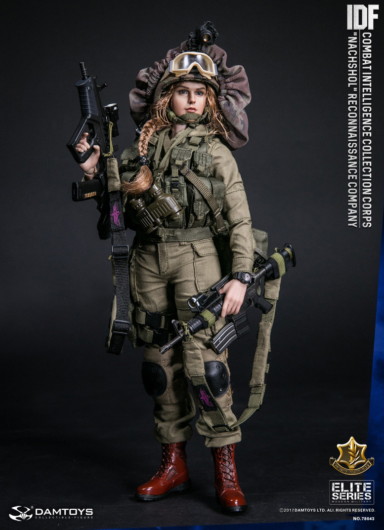 "DAMTOYS No.78043 IDF Combat Intelligence Collection Corps ""Nachshol"" Reconnaissance Company"