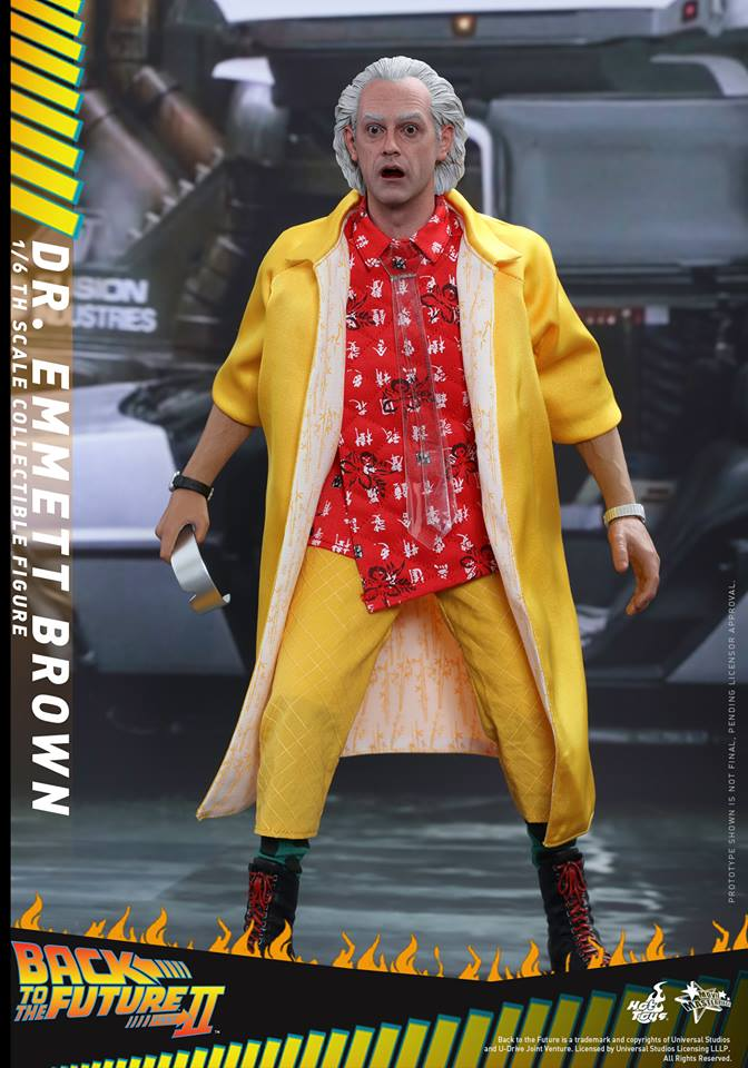 Hot Toys MMS380 BACK TO THE FUTURE PART II DR. EMMETT BROWN (SE)