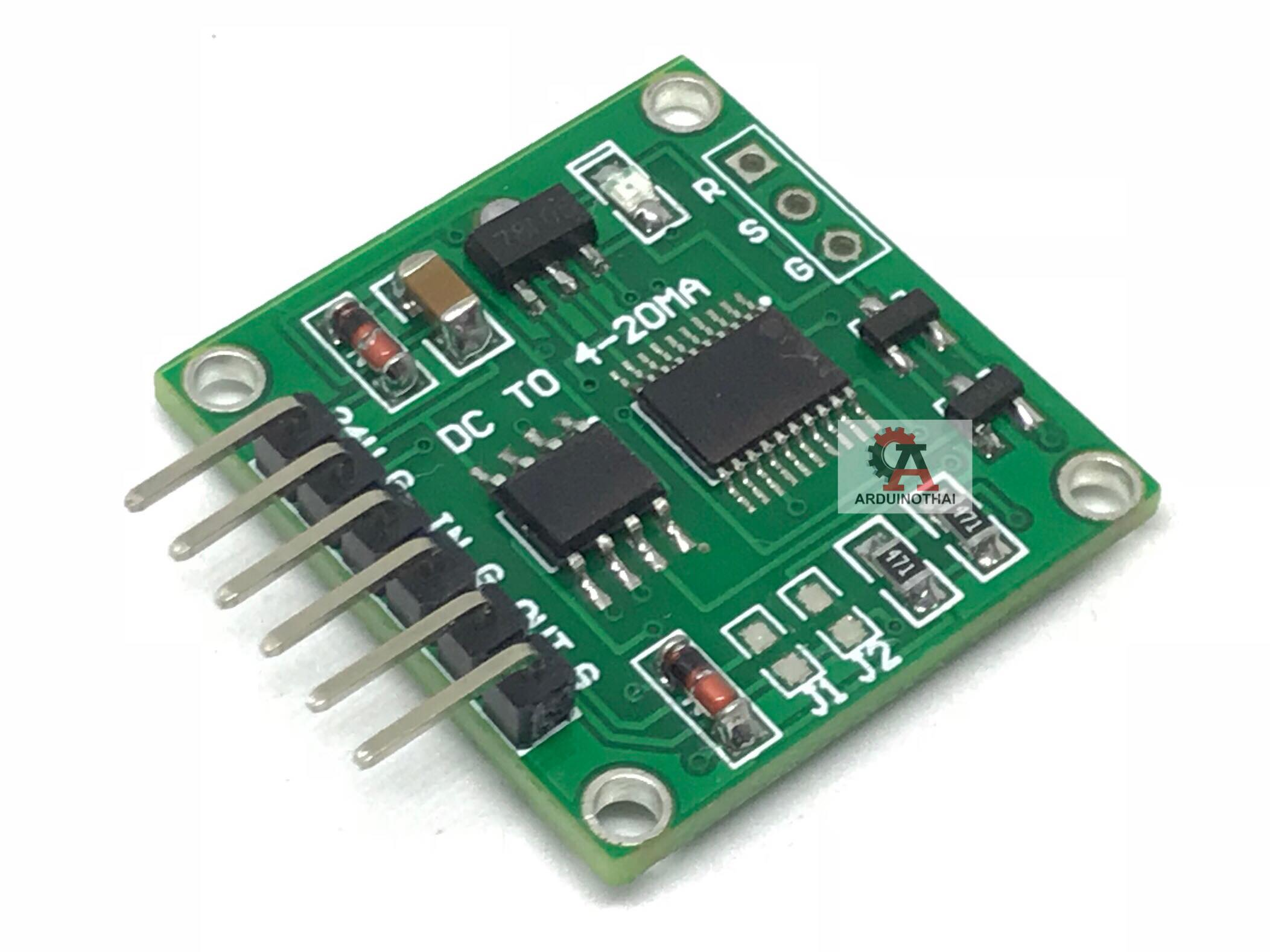 Voltage to Current 0-5 VDC to 4-20mA module