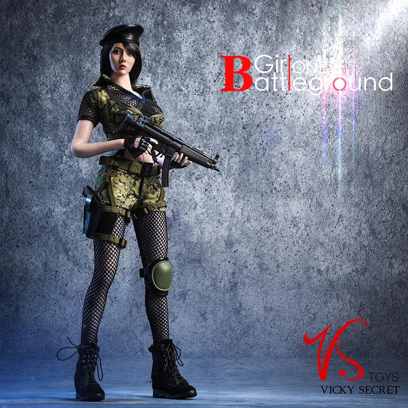 Vstoys 18XG13 Clothing Set Battlefield Girl