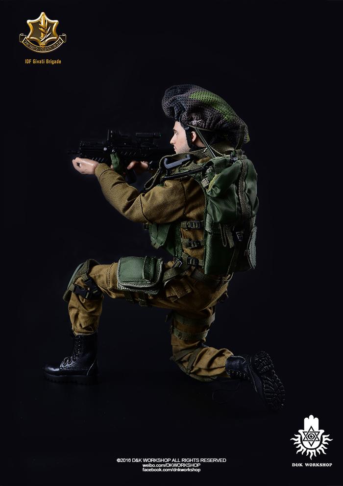 D&K WORKSHOP DK80001 IDF Givati Brigade in Gaza Strip