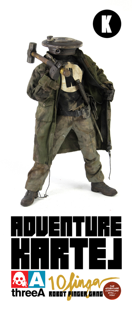 ThreeA Adventure Kartel - Finger Gang K
