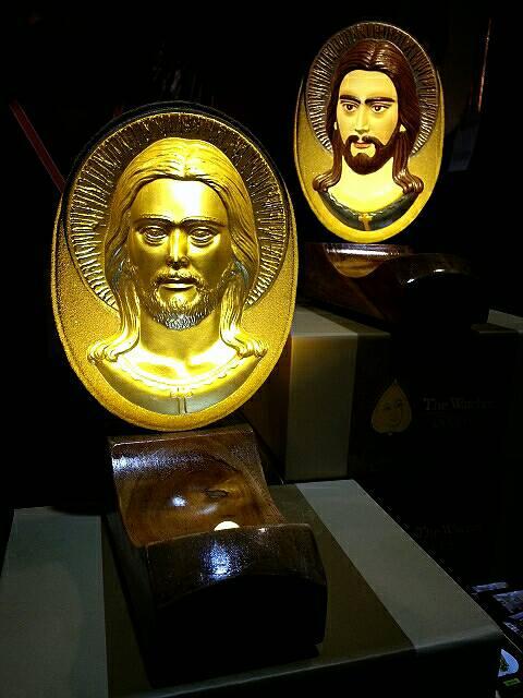 พระมองตาม ราคา งานแท่นโคมไฟ พระเยซู