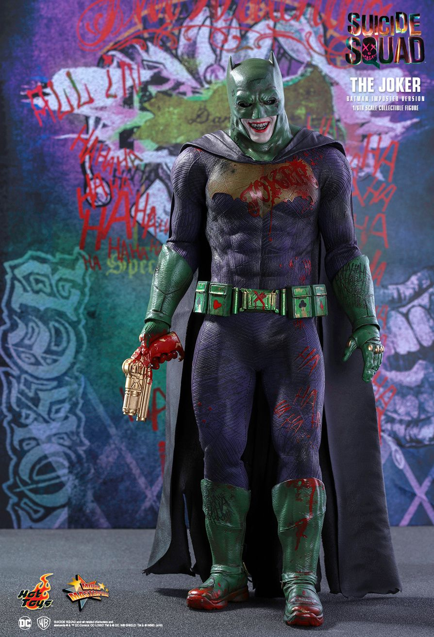 Hot Toys MMS384 SUICIDE SQUAD - THE JOKER (BATMAN IMPOSTER VERSION)