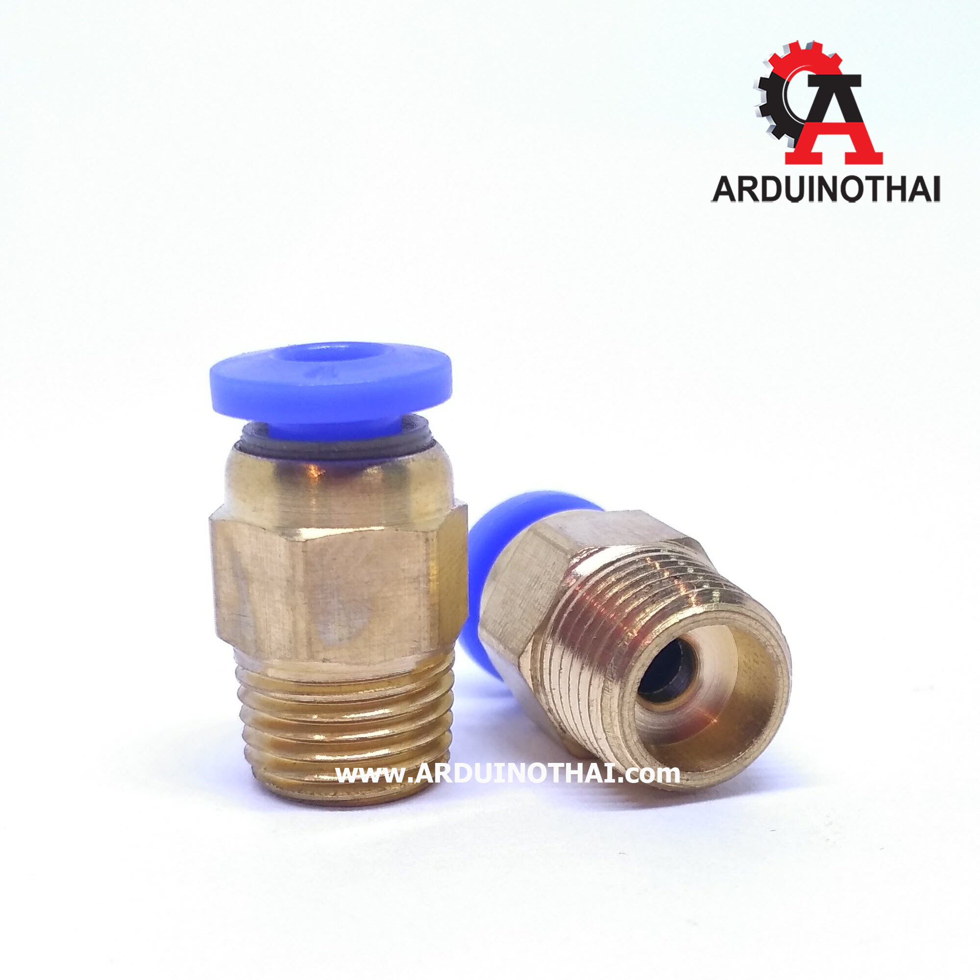 Pneumatic Connectors PC4-01 for 4mm OD tubing
