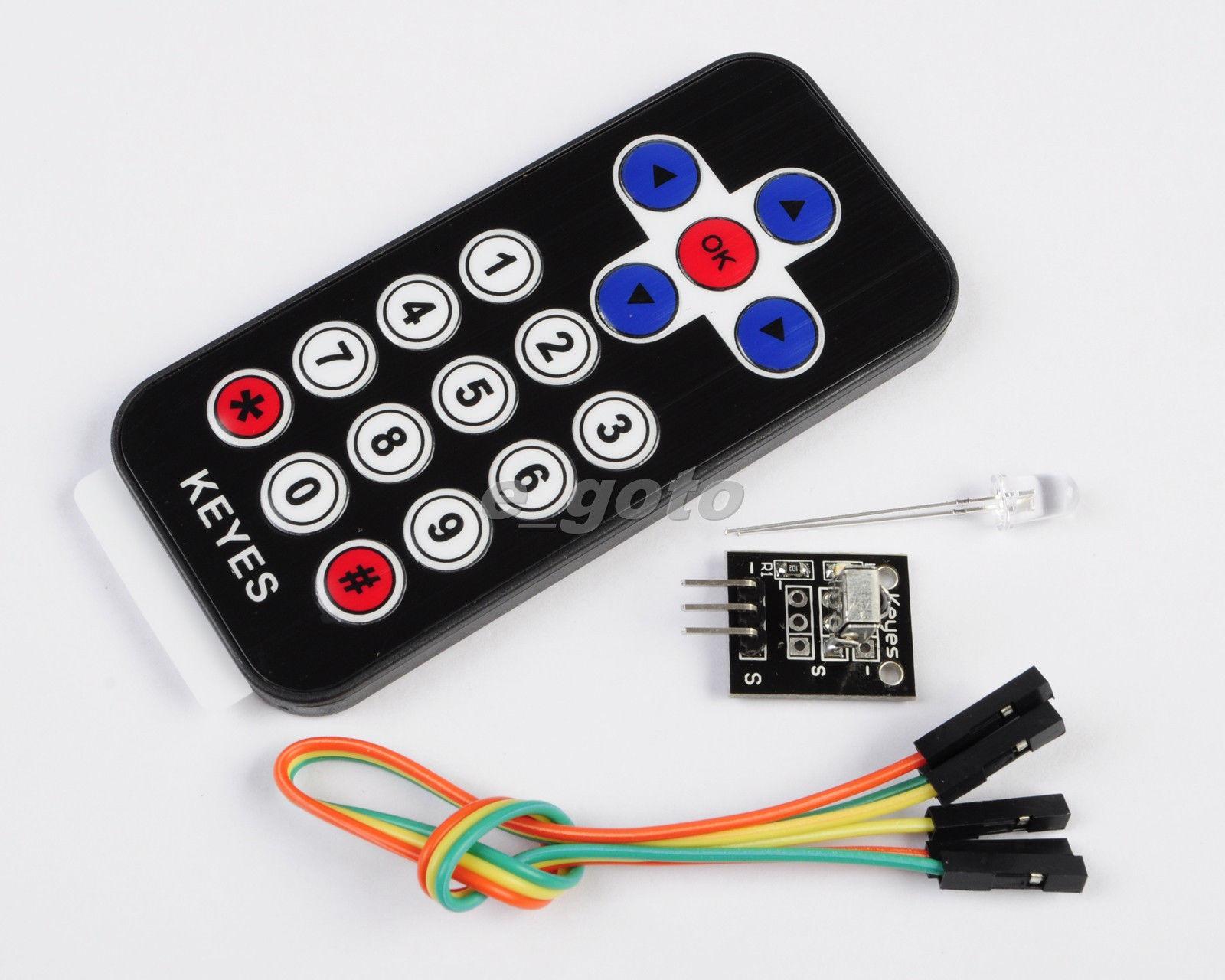 IR Receiver Module Wireless Remote Control