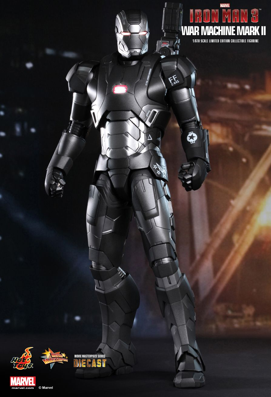 Hot Toys MMS198D03 IRON MAN 3 - WAR MACHINE MARK II (SE)