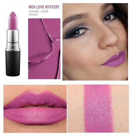 **พร้อมส่ง**MAC Matte Lipstick #Men Love Mystery ลิปสติกคุณภาพดีจาก M.A.C เนื้อแมตต์เนียนนุ่ม ให้ริมฝีปากดูสวยโดดเด่น ไม่แห้งกร้าน พร้อมเม็ดสีสวยสดใส ให้สีคมชัด กลบสีปากได้แนบสนิท ,