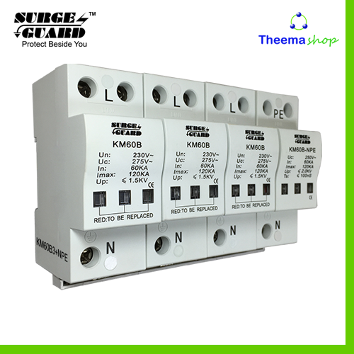Power Line Surge suppression, Model: KM60B/3+NPE