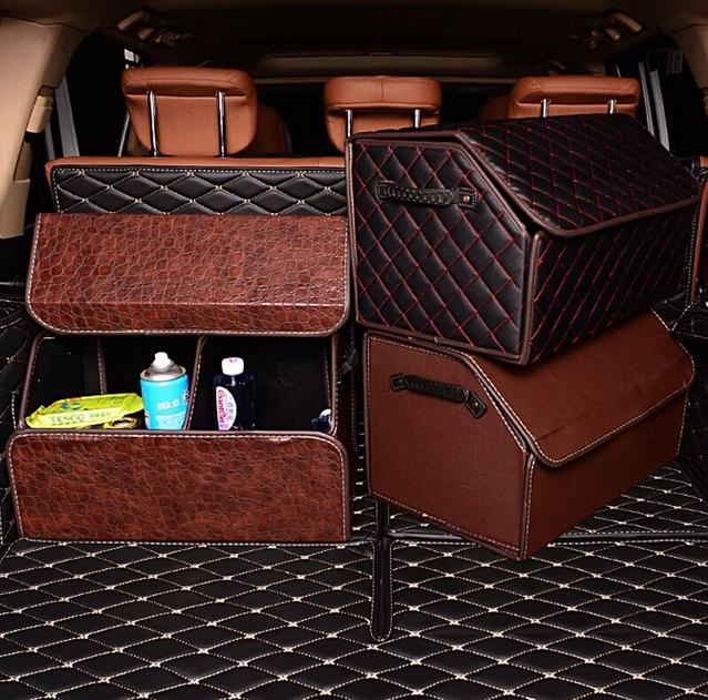 กล่องจัดระเบียบของในรถยนต์
