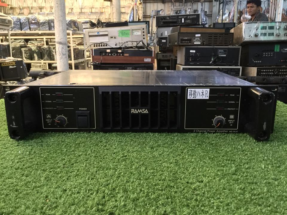 Power Amplifier RAMSA WP-9110