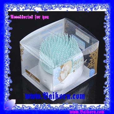 ไอเท็มที่ช่วยทำความสะอาดผิวพรรณ สุดเก๋รูปตัวเม้น ( Brabapapa Puff ) เป็นฟองน้ำรูป Brabapapa ตัวเม้น ที่มีขนนุ่มที่ช่วยทำความสะอาดและนวดผิวขณะอาบน้ำ