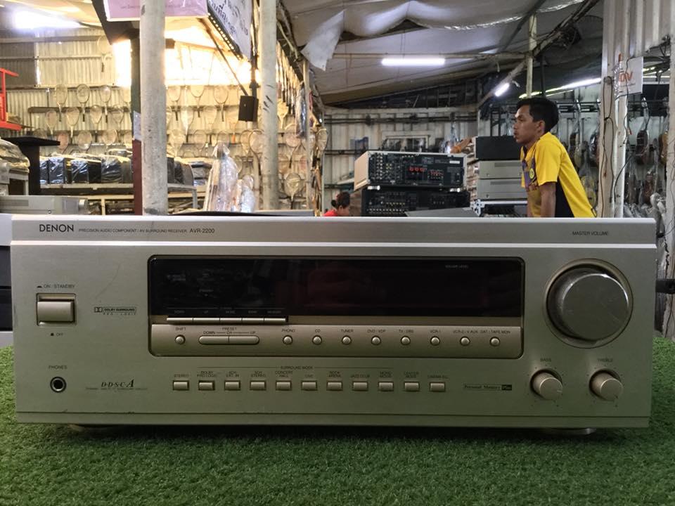 เครื่องขยายเสียง DENON AVR-2200