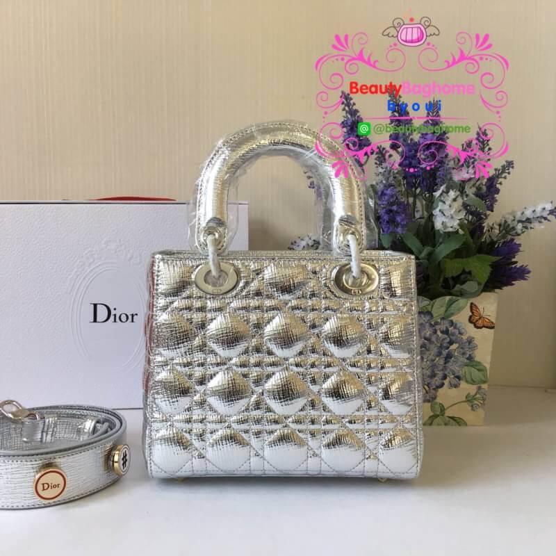 Dior lady สีเงินเมทาลิค งานHiend Original