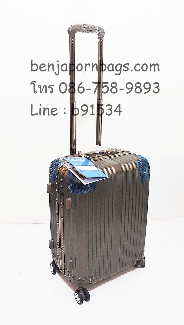 กระเป๋าเดินทาง SameSame สีแชมเปญ ขนาด 20 นิ้ว