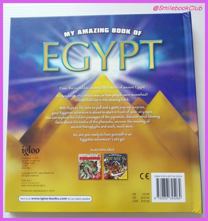 My Amazing Book of EGYPT