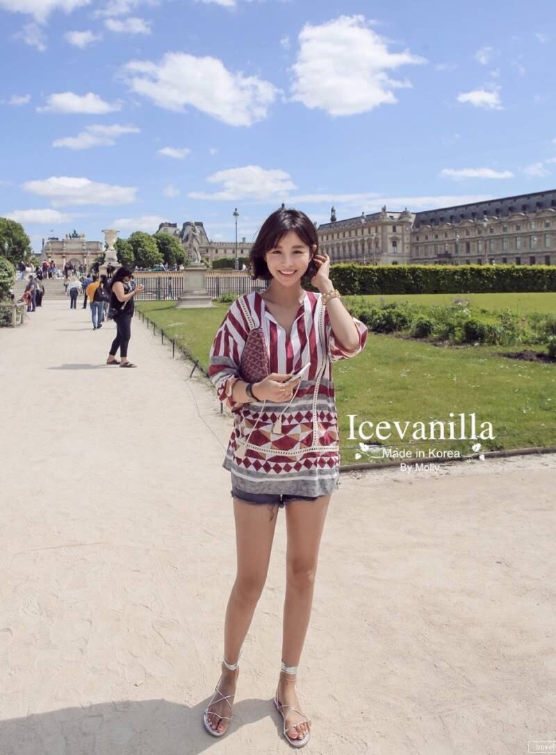 Hot korea summer mini Dress
