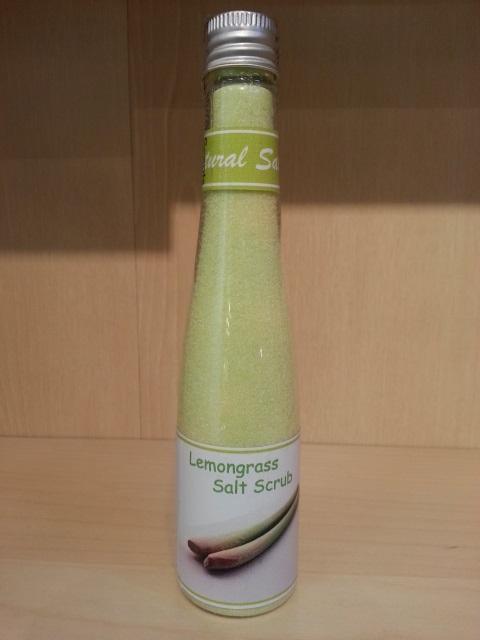 Aroma Lemongrass Salt Scrub 100 ml.