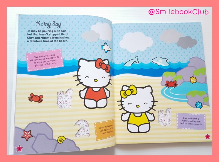 HELLO KITTY On Holiday : Bumper Sticker Collection