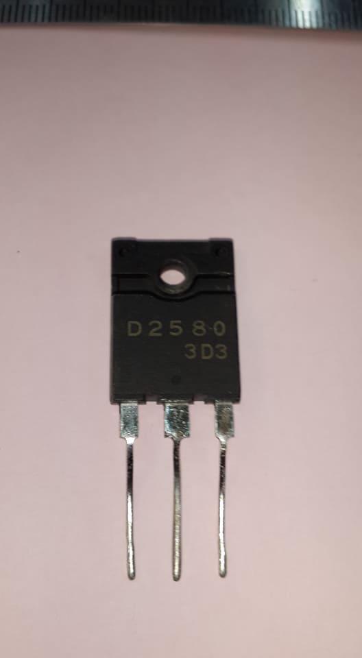 2SD2580ทรานซิสเตอร์หลังดำตัวถังTO-3P