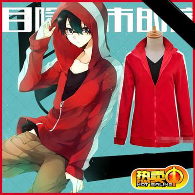 ชุดคอสเพลย์ชายแฟชั่น Kagerou Project Kisaragi Shintaro เสื้อแจ็กเก็ตแขนยาว