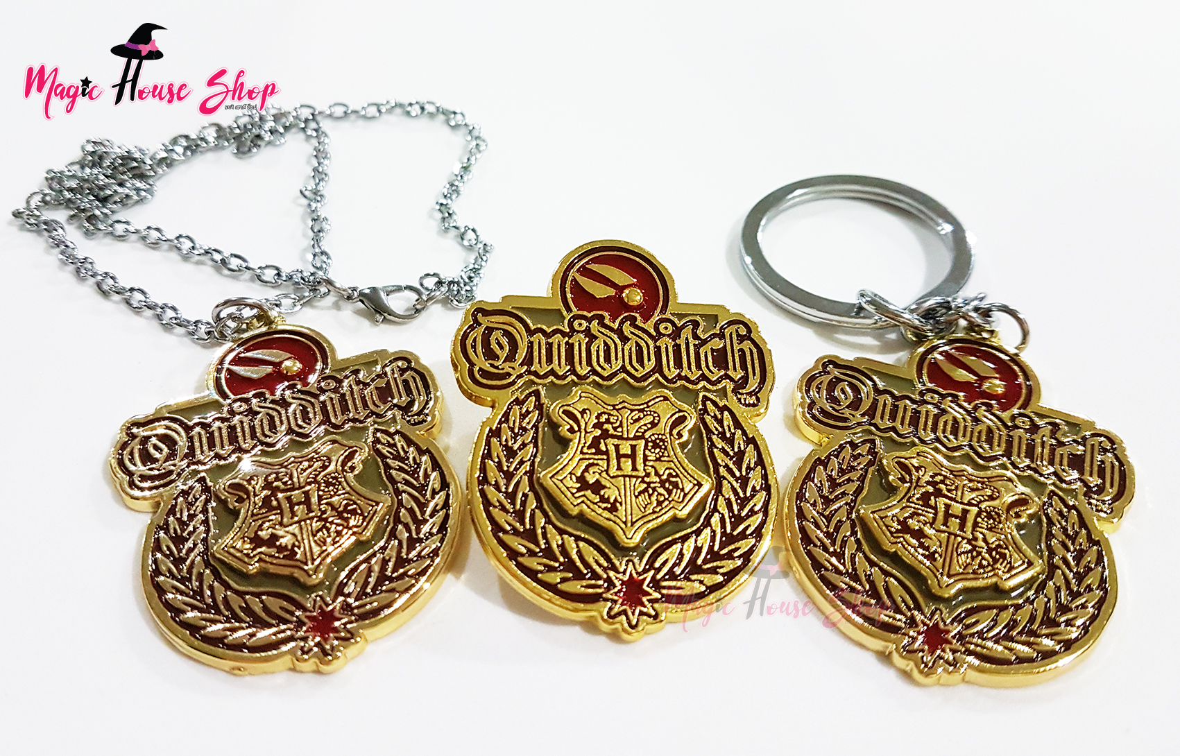 Quidditch ควิดดิช : สร้อยคอ พวงกุญแจ เข็มกลัด