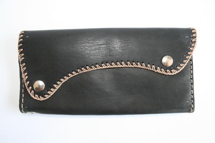 กระเป๋าสตางค์ ใบยาว สีดำ สภาพดีมาก