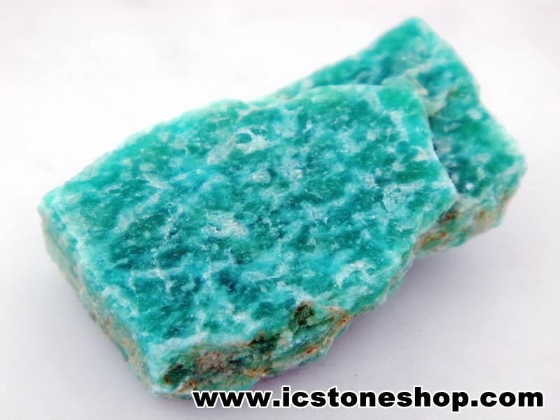 ▽อมาโซไนท์ (ฺAmazonite) ธรรมชาติ (6g)