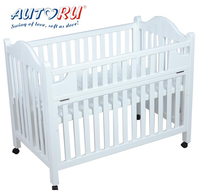 เตียงนอนเด็ก Autoru (สีขาว)