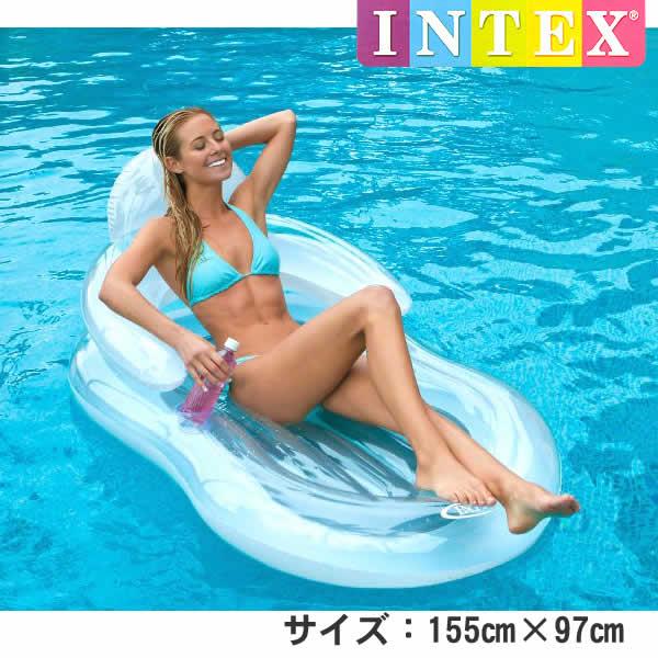 Intex Floating Comfort Lounge แพยางลอยน้ำพิงได้ 58857