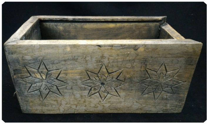 กล่องไม้สัก(ไม่มีฝา) 13x26 cm.