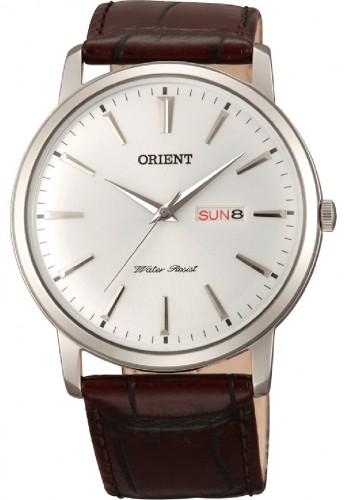 นาฬิกาผู้ชาย Orient รุ่น SUG1R003W6, Capital Dome Crystal Japan