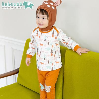 BZ216-เสื้อ+กางเกง 5 ตัว/แพค ไซส์ 90 100 100 110 110