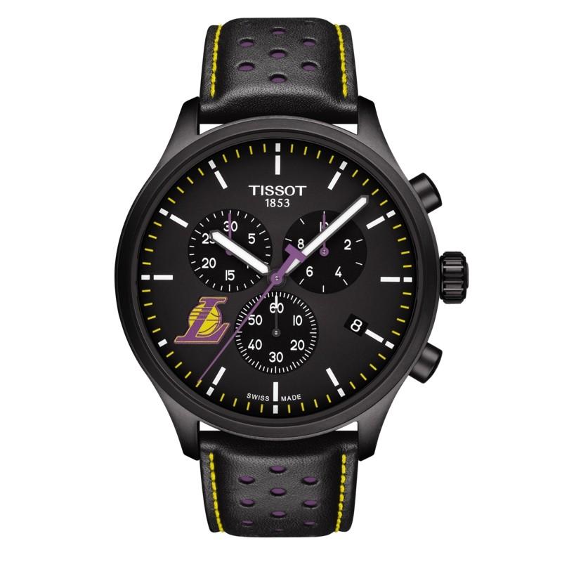 นาฬิกาผู้ชาย Tissot รุ่น T1166173605103, Chrono XL NBA Teams Special Los Angeles Lakers Edition Men's Watch