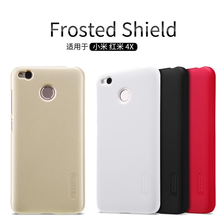 เคส Xiaomi Redmi 4X Nilkin Super Frosted Shield (ฟรี ฟิล์มกันรอยใส)