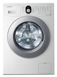 เครื่องซักผ้า ฝาหน้า 8 KG. สีขาว SAMSUNG WF8800RSV4