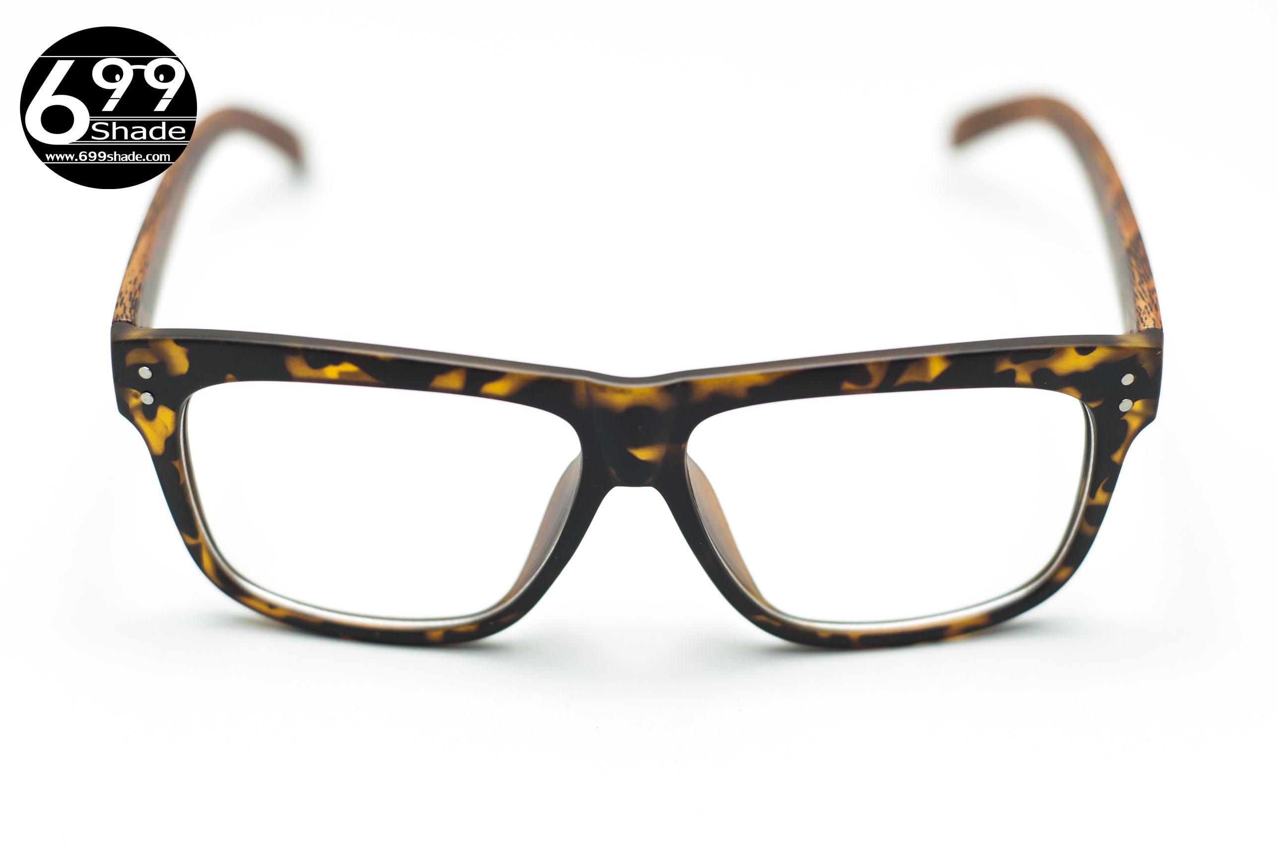 SHADE -C | กรอบแว่นพลาสติก ขาลายไม้