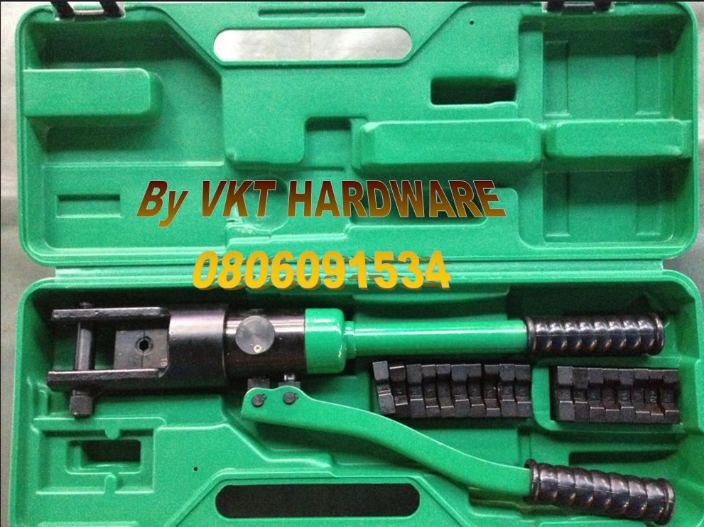 คีมย้ำสายไฟระบบไฮดรอลิค WYNN'S Hydraulic CrimpingWS-YQK300rnrn
