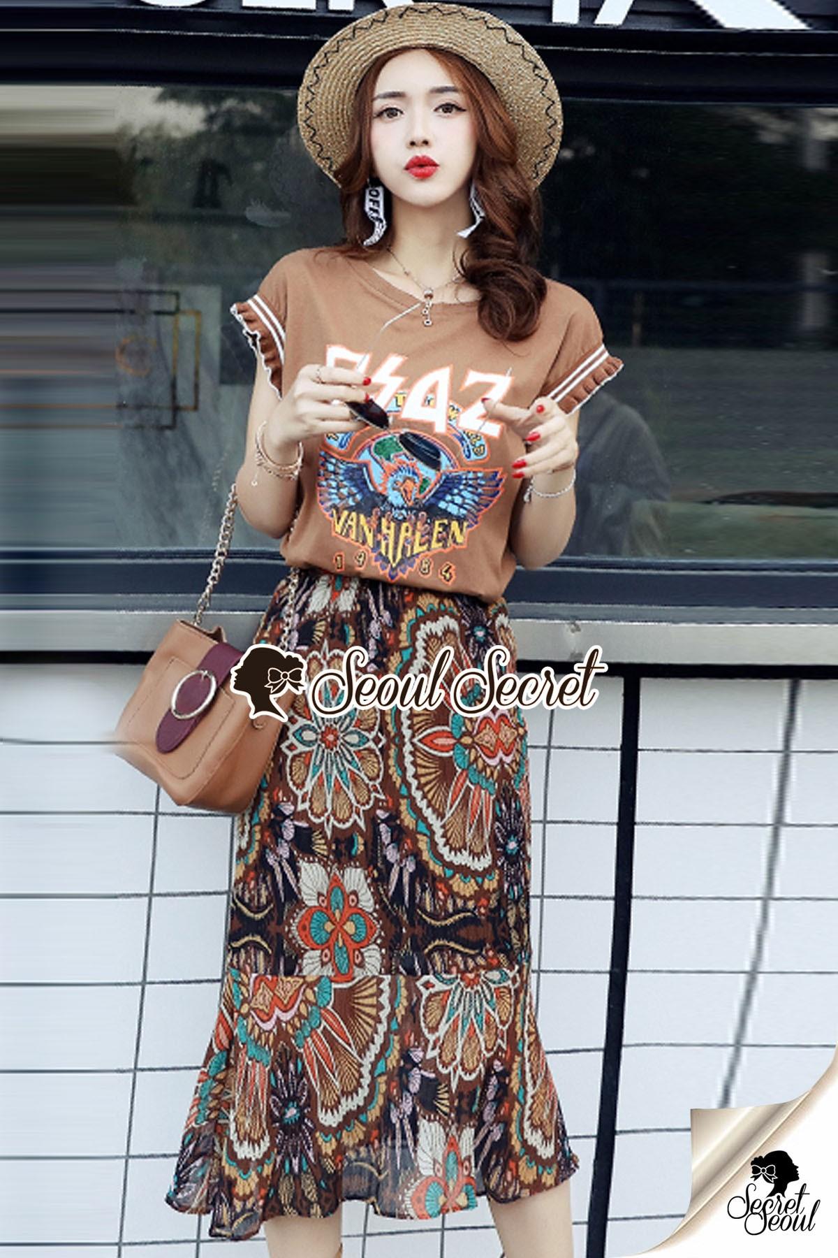 Seoul Secret Say's... Chic DSAZ Vanhalen Browny Color Set