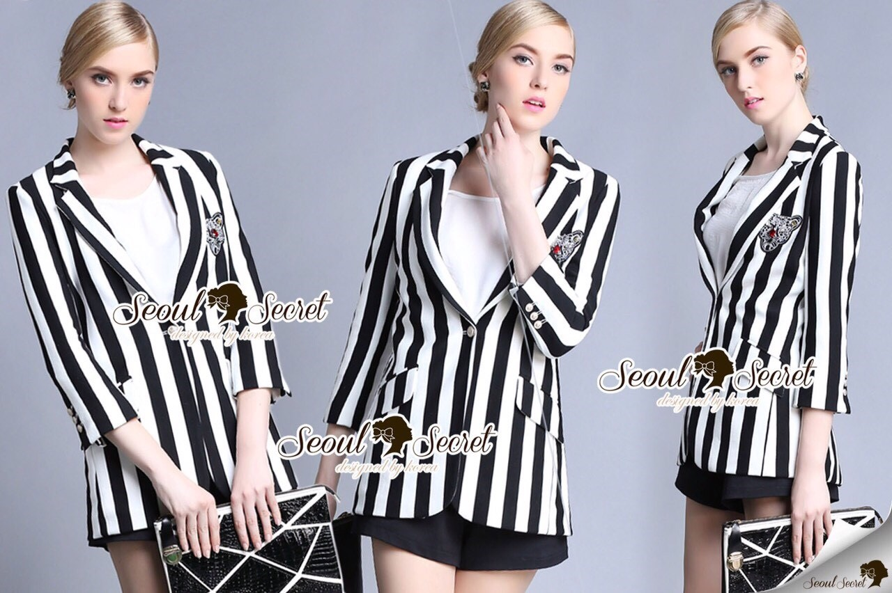 Seoul Secret Say's... Stripy Chic Outer Suite