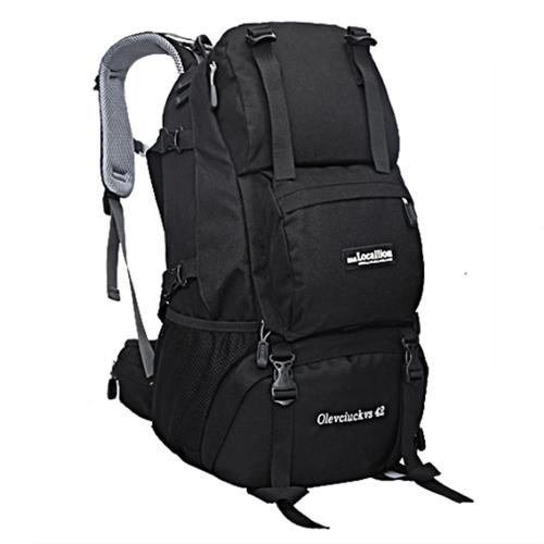 NL15 กระเป๋าเดินทางเสริมโครง สีดำ ขนาดจุสัมภาระ 42 ลิตร
