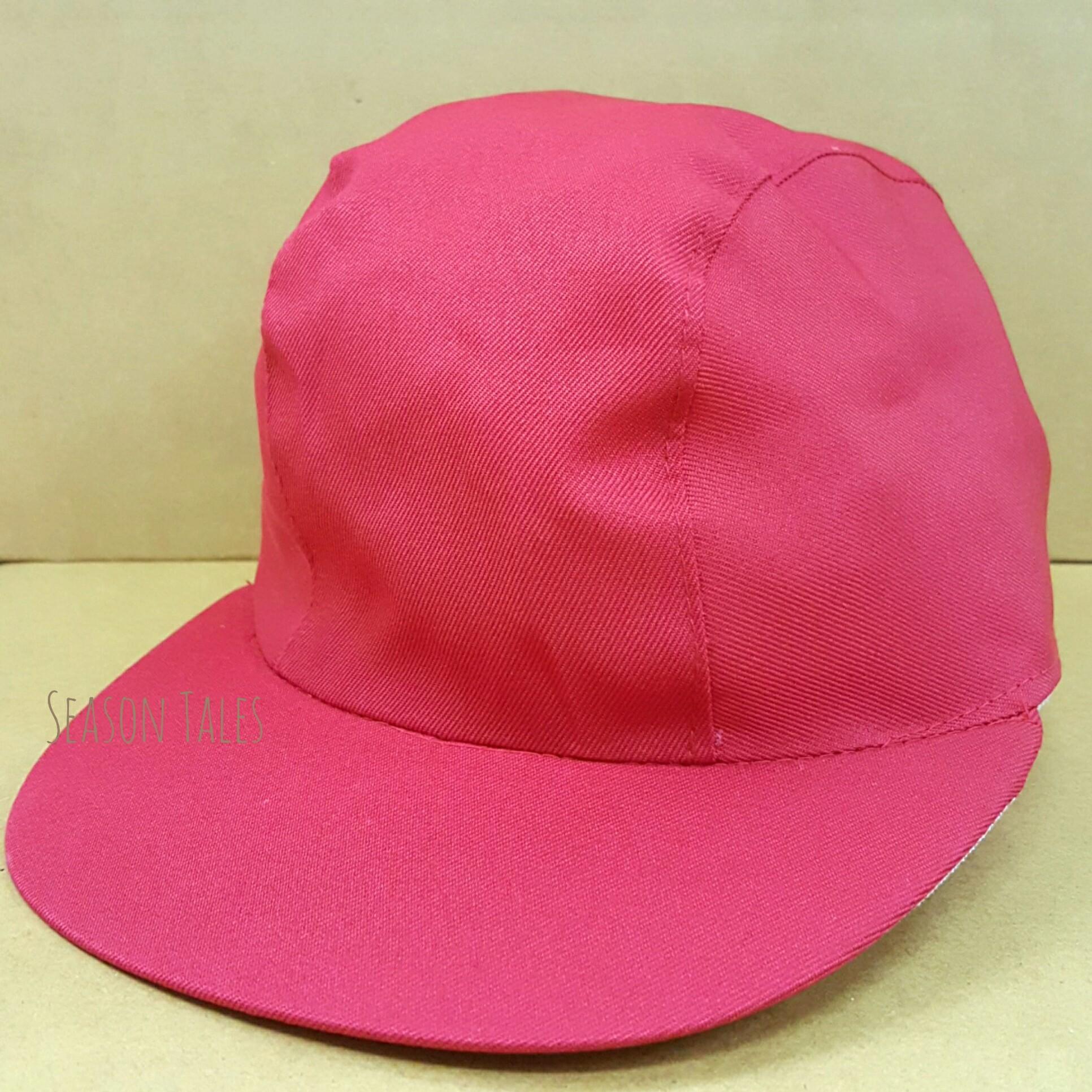 หมวกแก๊ป กีฬาสี สีแดง ราคาถูกสุดๆ (สั่งในเว็บไม่ได้ สั่งผ่านLine เท่านั้น)
