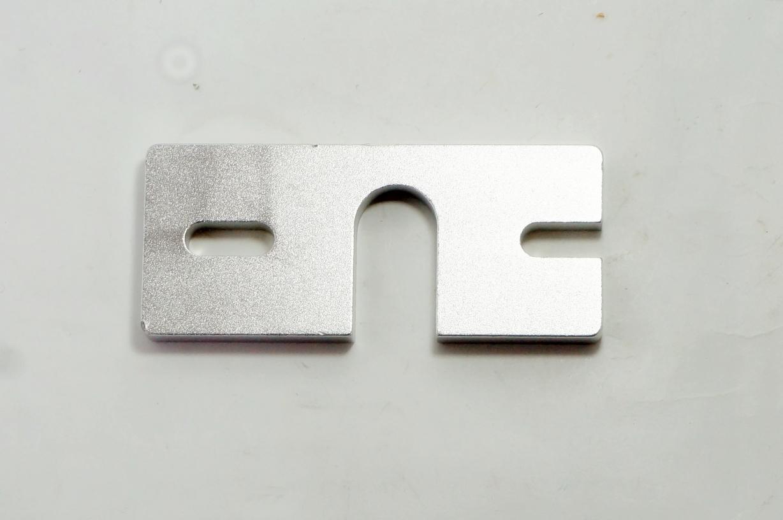 J-head aluminum mount plate for E3D V6
