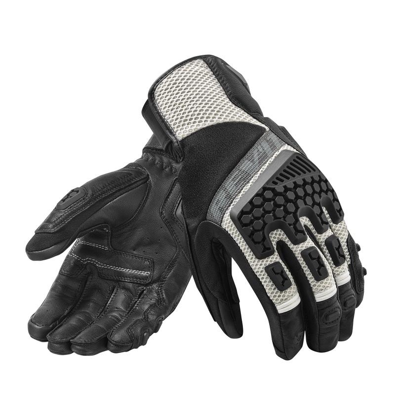 Rev'it Sand3 Glove Silver-Black